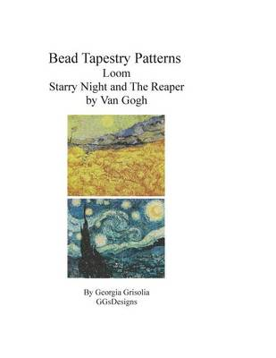 Picture of Bead Tapestry Patterns Loom Starry Night and the Reaper by Van Gogh