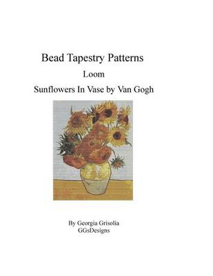 Picture of Bead Tapestry Patterns Loom Sunflowers in Vase by Van Gogh