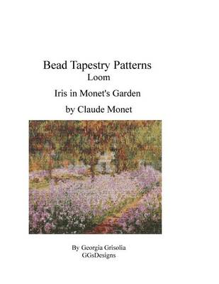 Picture of Bead Tapestry Patterns Loom Iris in Monet's Garden