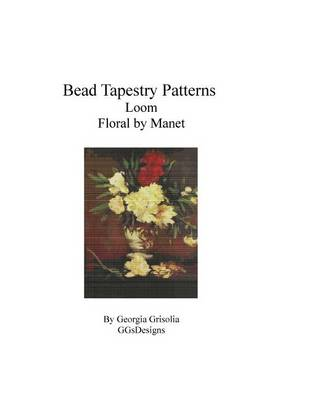 Picture of Bead Tapestry Patterns Loom Floral by Manet