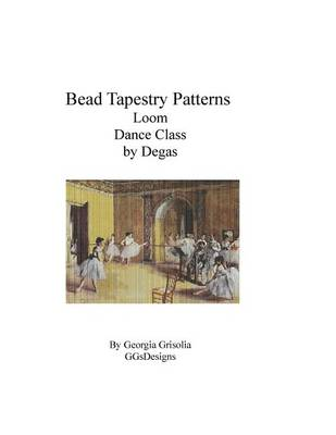 Picture of Bead Tapestry Patterns Loom Dance Class by Degas