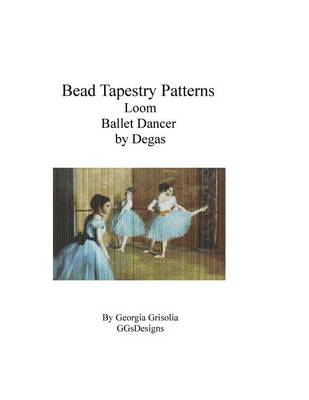 Picture of Bead Tapestry Patterns Loom Ballet Dancer by Degas