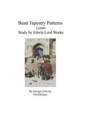 Picture of Bead Tapestry Patterns Loom Study by Edwin Lord Weeks
