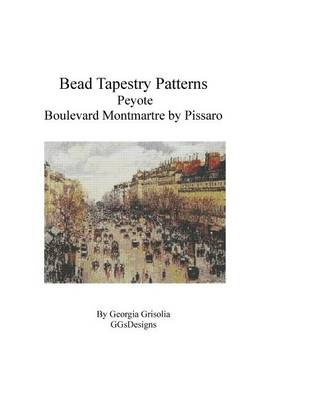 Picture of Bead Tapestry Patterns Peyote Boulevard Montmartre by Pissaro