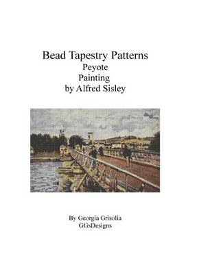 Picture of Bead Tapestry Patterns Peyote Painting by Alfred Sisley