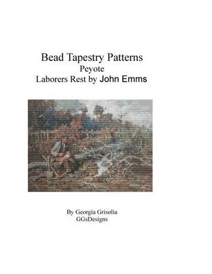 Picture of Bead Tapestry Patterns Peyote Laborers Rest by John Emms