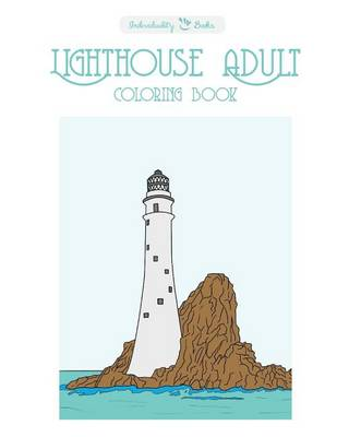 Picture of Lighthouse Adult Coloring Book
