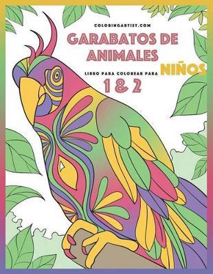 Picture of Garabatos de Animales Libro Para Colorear Para Ninos 1 & 2