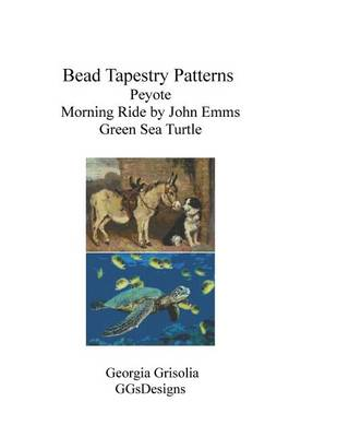 Picture of Bead Tapestry Patterns Peyote Morning Ride by John Emms Green Sea Turtle