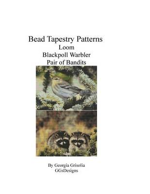 Picture of Bead Tapestry Patterns Loom Blackpoll Warbler Pair of Bandits