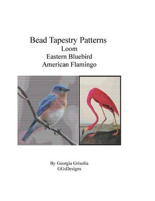 Picture of Bead Tapestry Patterns Loom Eastern Bluebird American Flamingo