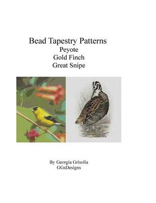 Picture of Bead Tapestry Patterns Peyote Gold Finch Great Snipe