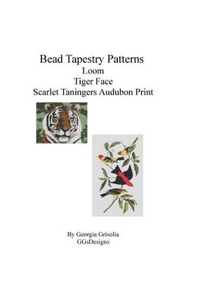 Picture of Bead Tapestry Patterns Loom Tiger Face Scarlet Taningers Audubon Print