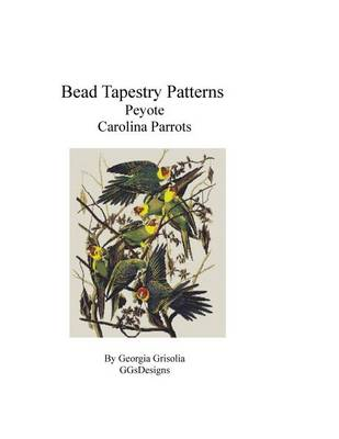 Picture of Bead Tapestry Patterns Peyote Carolina Parrots