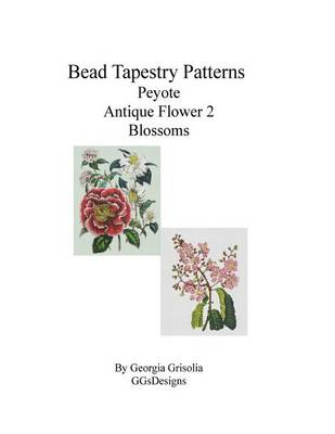 Picture of Bead Tapestry Patterns Peyote Antique Flower 2 Blossoms