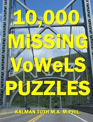 Picture of 10,000 Missing Vowels Puzzles