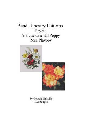 Picture of Bead Tapestry Patterns Peyote Antique Oriental Poppy Rose Playboy