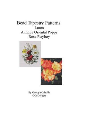 Picture of Bead Tapestry Patterns Loom Antique Oriental Poppy Rose Playboy