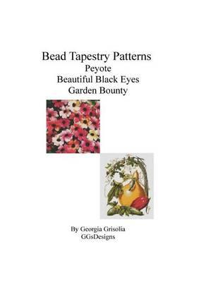 Picture of Bead Tapestry Patterns Peyote Beautiful Black Eyes Garden Bounty