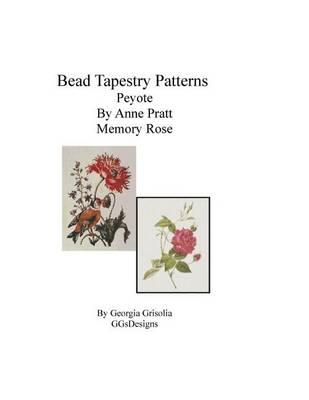 Picture of Bead Tapestry Patterns Peyote by Anne Pratt Memory Rose