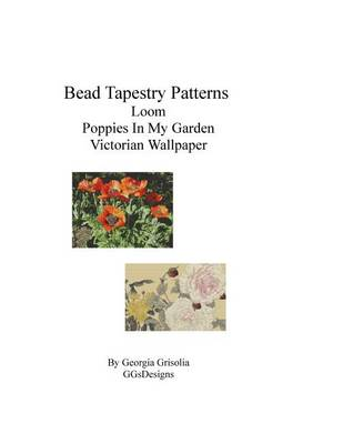 Picture of Bead Tapestry Patterns Loom Poppies in My Garden Victorian Wallpaper