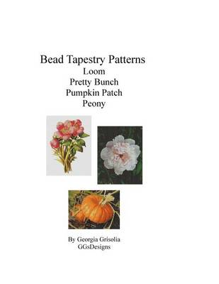 Picture of Bead Tapestry Patterns Loom Pretty Bunch Pumpkin Patch Peony