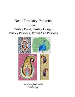 Picture of Bead Tapestry Patterns Loom Paisley Band Paisley Design Paisley Peacock Proud as a Peacock