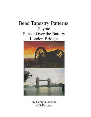 Bead Tapestry Patterns Peyote Sunset Over the Battery London Bridges