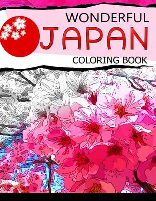 Picture of Wonderful Japan Coloring Book: A Cities Coloring Book for Adults