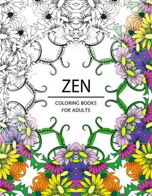 Picture of Zen Coloring Books for Adults: Adult Coloring Book (Art Book Series)