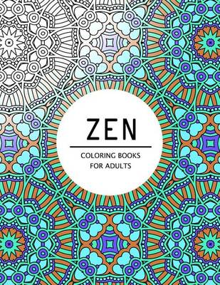 Picture of Zen Coloring Books for Adults: Coloring Pages for Adults