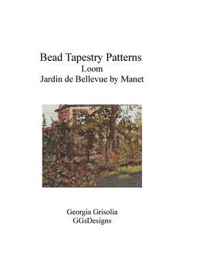 Picture of Bead Tapestry Patterns Loom Jardin de Bellevue by Manet