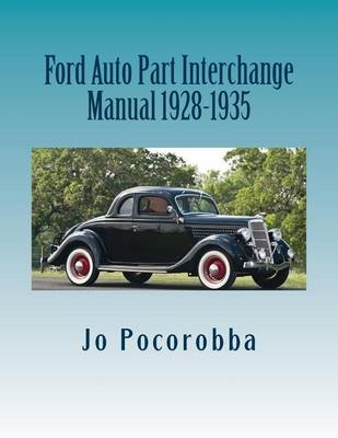 Picture of Ford Auto Part Interchange Manual 1928-1935