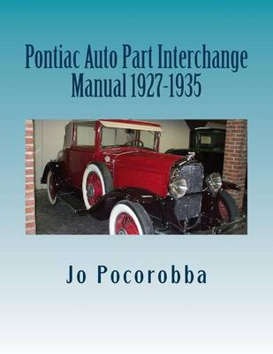 Picture of Pontiac Auto Part Interchange Manual 1927-1935