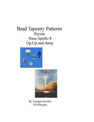 Picture of Bead Tapestry Patterns Peyote NASA Apollo 8 Up, Up and Away