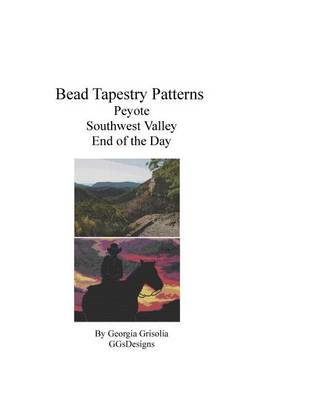 Picture of Bead Tapestry Patterns Peyote Southwest Valley End of the Day