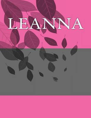 Picture of Leanna: Personalized Journals - Write in Books - Blank Books You Can Write in