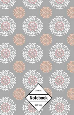 Picture of GM&Co  : Notebook Journal Dot-Grid, Lined, Graph, 120 Pages 5.5x8.5 (Pastel Grey Mandalas)