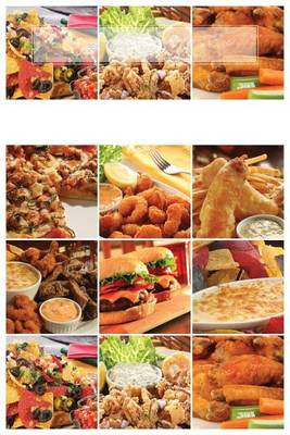 Picture of Deep Fried Recipes: 150 Page Blank Recipe Book
