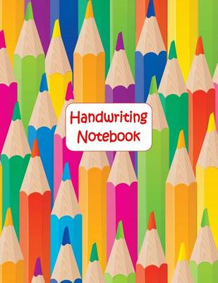 Picture of Handwriting Notebook: 100 Pages, 1/2  Writing Space, Single Dotted Midline, 1/4  Descending Space