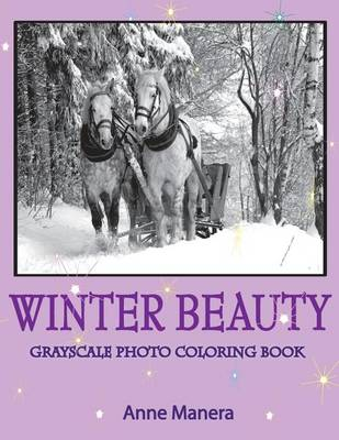 Picture of Winter Beauty Grayscale Photo Coloring Book