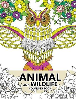 Picture of Animal and Wildlife Coloring Book: Animals and Magic Dream Design (Adults Coloring Books)