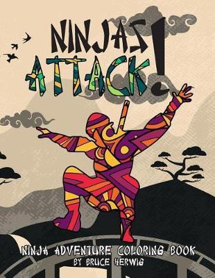 Picture of Ninjas Attack!: Ninja Adventure Coloring Book