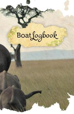 Picture of Boat Log Book: 50 Pages, 5.5 X 8.5 Elephants