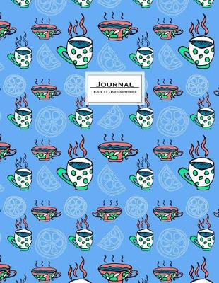 Picture of Journal - 8.5 X 11 Lined Notebook: Large, Ruled, 110 Pages