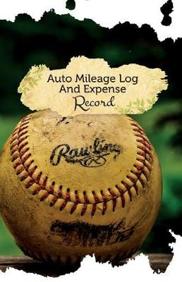 Picture of Auto Mileage Log and Expense Record: 50 Pages, 5.5 X 8.5 Old Ball Game