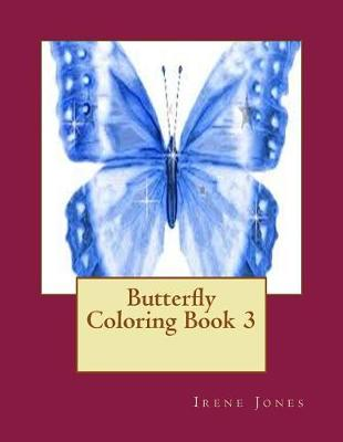 Picture of Butterfly Coloring Book 3