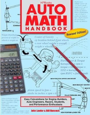 Picture of Auto Math Handbook: Easy Calculations for Engine Builders, Auto Engineers, Racers, Students and Performance Enthusiasts