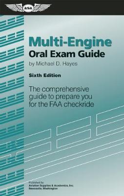 Picture of Multi-Engine Oral Exam Guide: The Comprehensive Guide to Prepare You for the FAA Checkride