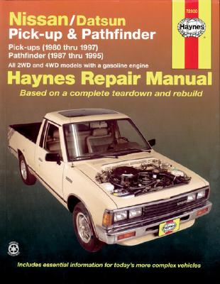 Picture of Nissan/Datsun Pick-up and Pathfinder Automotive Repair Manual: 1980-1997
